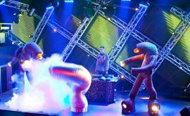 Танцевальное шоу 'Просторы Вселенной'