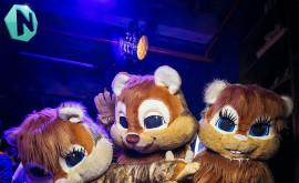 Танцевальное шоу 'Hamster party'