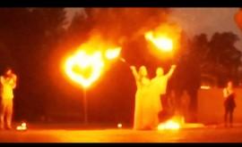 Огненно-пиротехническое шоу на свадьбу
